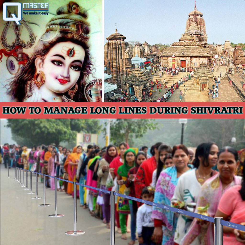 HOW TO MANAGE LONG LINES DURING SHIVRATRI