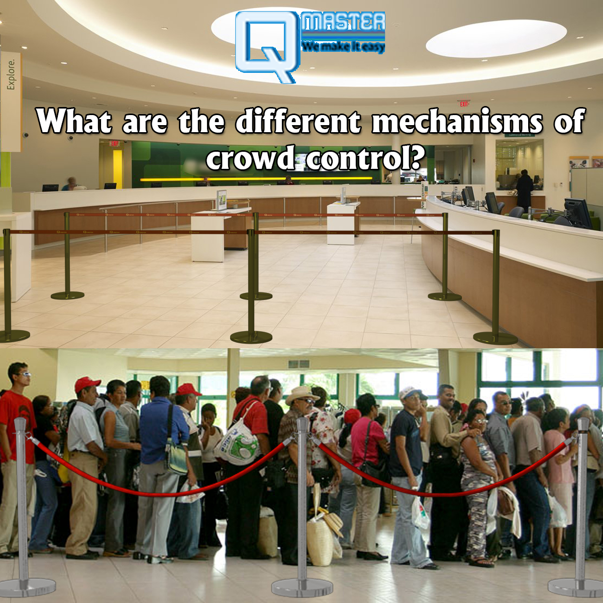 What are the different mechanisms of crowd control