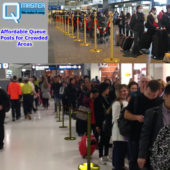 Affordable Queue Posts for Crowded Areas