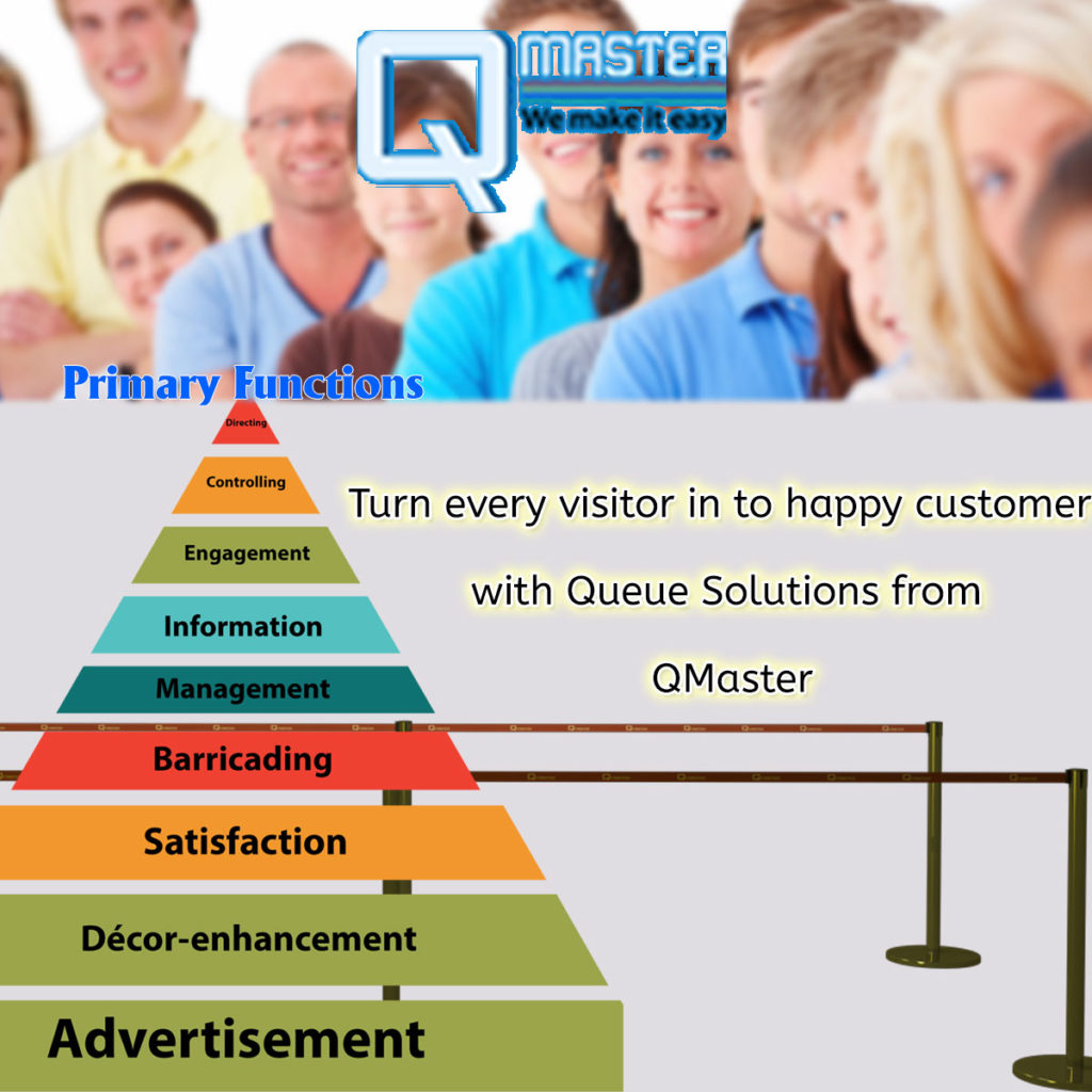Turn every visitor into happy customer with Queue Solutions from QMaster