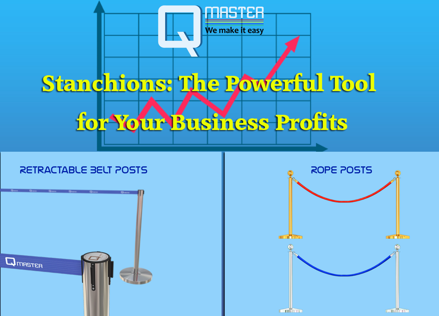 stanchions: the powerful tool for your business profits – qmaster