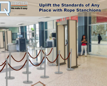 Uplift the Standards of Any Place with Rope Stanchions