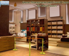 Queue Management and Crowd Control Equipment for Retail Stores