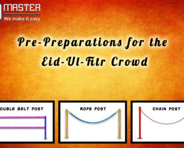 Pre-Preparations for the Eid-Ul-Fitr Crowd